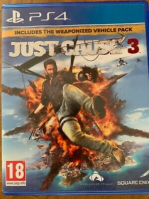 £3 • Buy Just Cause 3 (Sony PlayStation 4, 2017) PS4