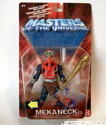 $16 • Buy New Mekaneck Action Figure 200x Masters Of The Universe 2001 MOTU He-man