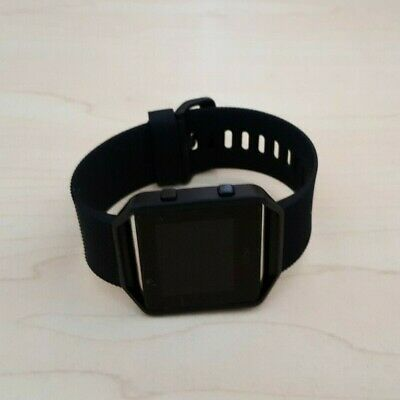 AU59.50 • Buy Fitbit Blaze Smart Watch Fitness Activity Tracker All Black - Large *NO CHARGER*