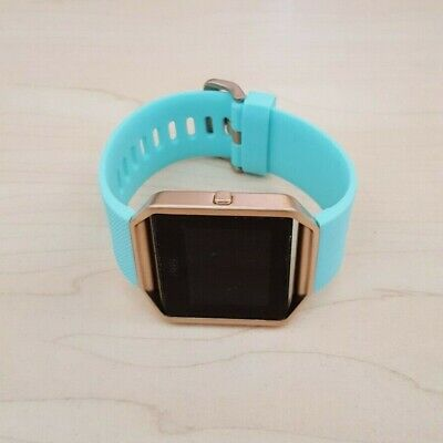 AU59.50 • Buy Fitbit Blaze Smart Watch Fitness Activity Tracker Teal Blue - Small *NO CHARGER*