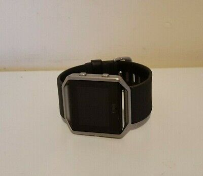 AU59.50 • Buy Fitbit Blaze Smart Watch Fitness Activity Tracker Black Band Large (NO CHARGER)