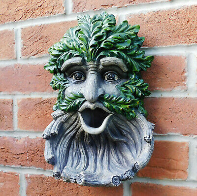 £34.99 • Buy Tree Spirit Pagan Wiccan Woodland Ent Wall Plaque Bird Feeder Ornament NEW IN 🌴