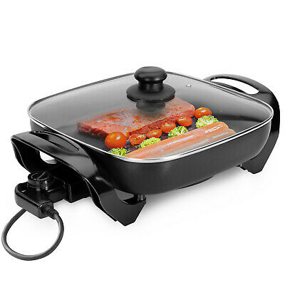 £26.99 • Buy Geepas Multi Cooker Pot Electric Frying Pan Electric Skillet Non-Stick 1500W