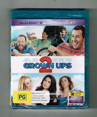 AU13.45 • Buy Grown Ups 2 Blu-ray Adam Sandler - Brand New & Sealed