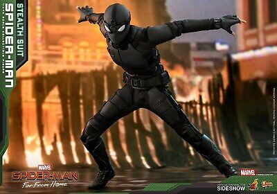 $ CDN278.10 • Buy Hot Toys 1:6 Scale Spider-Man (Stealth Suit) Far From Home HT-904857