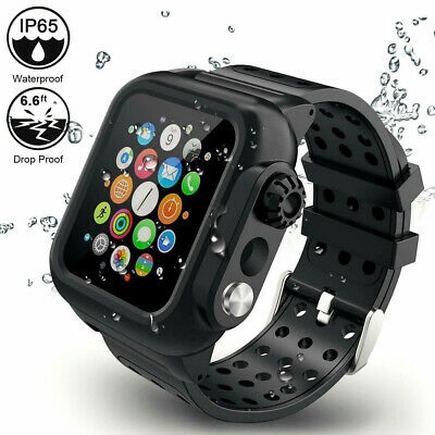 $ CDN25.13 • Buy New For Apple Watch Series1/2/3/4/5/6 40/42/44mm Band Strap Waterproof Case With