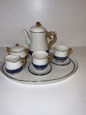£14.99 • Buy Regal Bone China Collection Miniature Tea Or Coffee Set With Tray