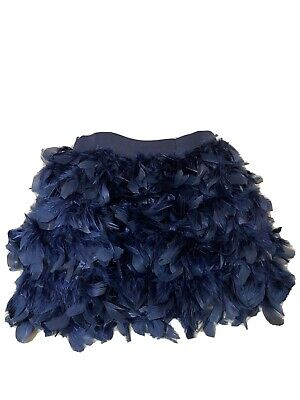 £14 • Buy Real Full Ostrich Feather TOWIE Party Mini Skirt