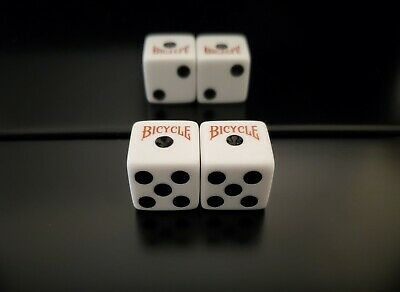 £232.78 • Buy **NEW**Loaded Dice Weighted 2/4/6 Passers Bicycle Dice (Medium 75%) Lightweight