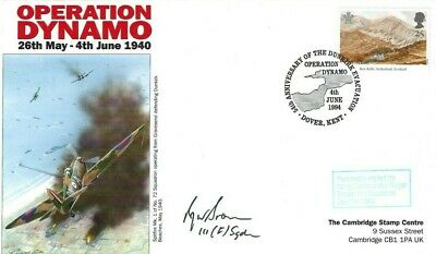£4.99 • Buy 1994 Operation Dynamo, Signed Wing Commander Roger Brown 111 Sqn. Dunkirk 1940