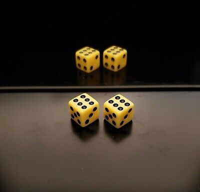£218.23 • Buy **NEW** Loaded Dice Weighted 2/4/6 Passers With Fronts (Medium 75%) Lightweight