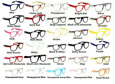 £4.95 • Buy Large Frame Classic Fashion Unisex Colourful Reading Glasses In 20 Colours TN49