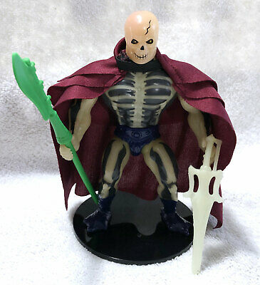 $350 • Buy SCAREGLOW • 100% COMPLETE W/COLLECTOR CASE • VINTAGE MASTERS OF THE UNIVERSE