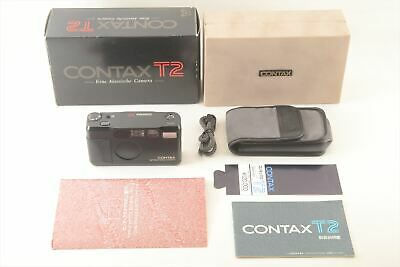 $ CDN2486.96 • Buy [Mint] Contax T2 Limited Black 35mm Point & Shoot Film Camera 4890#J