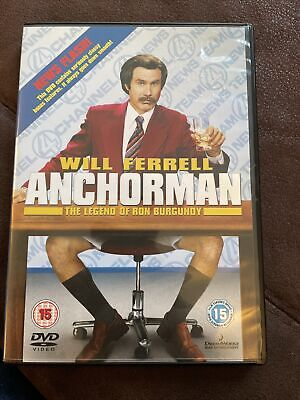 £2.25 • Buy Anchorman - DVD - Will Ferrell - COMEDY - FREE POSTAGE