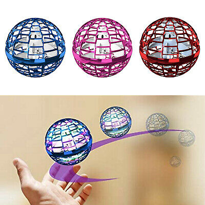 AU36.48 • Buy Hand Induction Mini Drone Flying Ball LED Cool Toy For Ages 5678 Boys Girls