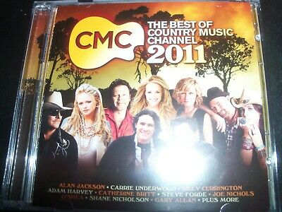 AU14.78 • Buy CMC The Best Of Country Music Chanel 2011 CD Brad Paisley Adam Harvey & More