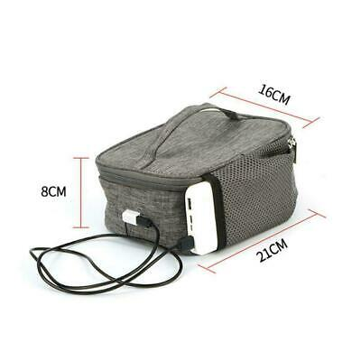 AU14.05 • Buy USB Thermal Insulation Lunch Food Box Warmer Heating Container Bag Storage S8L5