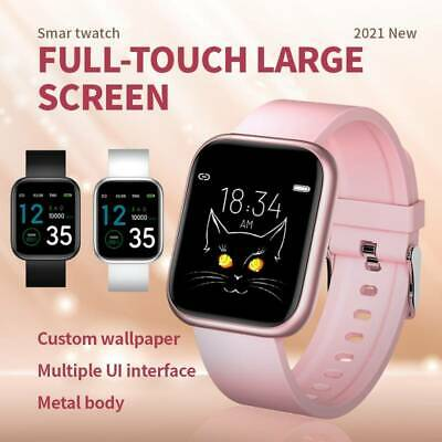 AU29.99 • Buy Fitness Tracker Fitbit Smart Watch Pedometer Heart Rate Blood Pressure Monitor 1