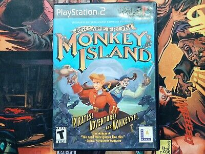 £9.21 • Buy Escape From Monkey Island (Sony PlayStation 2 | PS2)