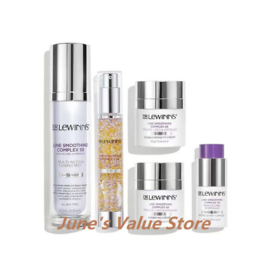 £105.42 • Buy DR LeWinns S8 Line Smoothing Complex Triple Action Day Defence Toning Mist Pack