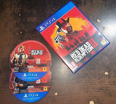 AU30.18 • Buy Red Dead Redemption 2 (Inc. Map + DLC) • PS4 (Boxed) • SAME DAY DISPATCH