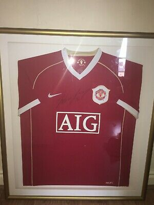 £199.99 • Buy Wayne Rooney Manchester United Signed Framed 2005-06 Home Shirt With Aoc