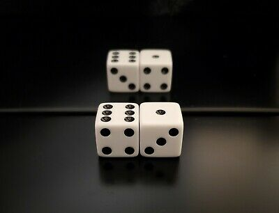 £212.95 • Buy **NEW** Loaded Dice Weighted 1/3/5 Passers With Fronts (MEDIUM STRONG 80%)