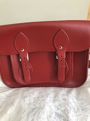 £45 • Buy Cambridge Satchel Company Red Satchel Bag,New Without Tags