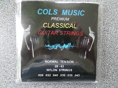 $ CDN7.78 • Buy Classical Nylon Guitar Strings  - Normal Tension Strings Silver Plated Wound