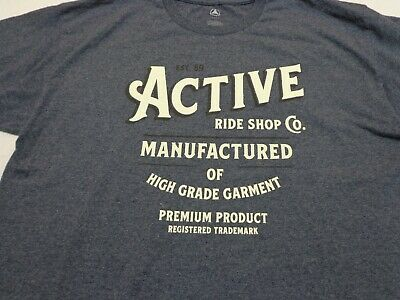 Active Ride Shop T-Shirt - Heather Gray Size Large    • 9.42£