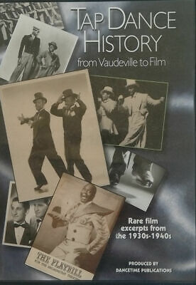 £5.30 • Buy Tap Dance History From Vaudeville To Film 1930s -1940s DVD