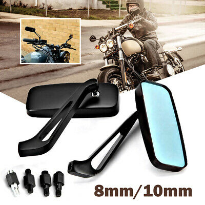 $27.99 • Buy Rectangle Black Motorcycle Rearview Mirrors For Suzuki Boulevard C90 C109R M109R