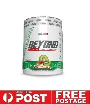 AU59.95 • Buy Ehp Labs BEYOND BCAA + EAA  60srv KIWI STRAWBERRY   Muscle Gain Recovery Aminos