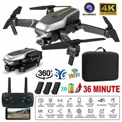 AU66.99 • Buy Drones X Pro With HD 4K Camera GPS Follow Me RC Brushless Wifi FPV Drone Gift AU