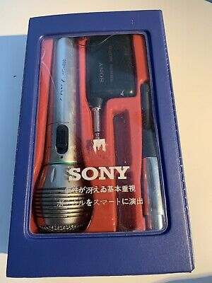 £86.91 • Buy Vintage Sony NC-650 Wireless Dynamic Microphone + Case + Accessories