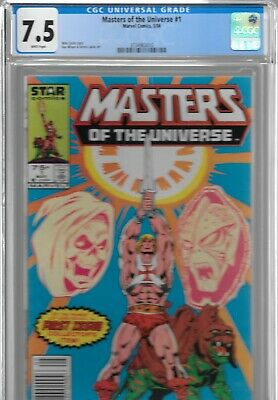$229.99 • Buy Masters Of The Universe 1 CGC 7.5 He-Man Star 1986 1st Marvel NEWSSTAND Variant