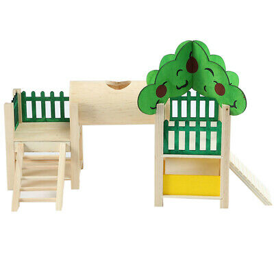 £12.67 • Buy Hamster House Playstand Playground Perch Gym Stand Playpen Ladders Exercise ALUK