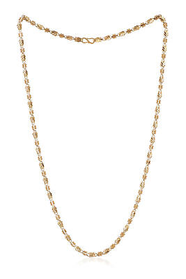 £1435 • Buy Stunning Dubai Handmade Chain Necklace In 916 Stamped 22Carat Yellow Gold 24