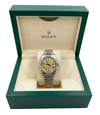 $ CDN6423.63 • Buy Rolex Datejust 16030 Roman Numeral Dial Stainless Steel