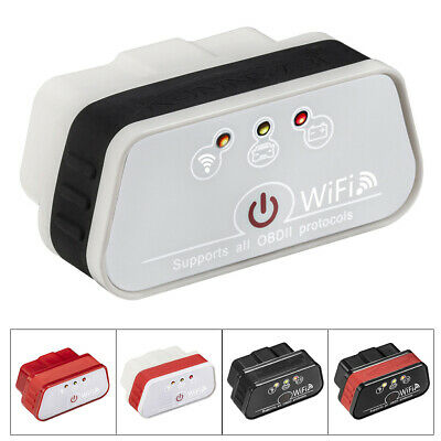 AU26.13 • Buy ODB2 OBDII Car Code Reader WiFi Diagnostic Scanner Tool For Iphone  IOS Android