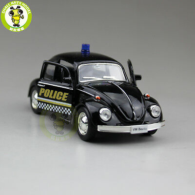 RMZ VW Volkswagen Beetle Diecast Model Police Car Toy Boy Gift Pull Back 5 Inch • 11.67£