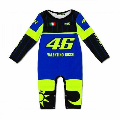 £33.99 • Buy Valentino Rossi VR46 Moto GP Blue Yamaha Baby Grow Overall Suit Official 2021