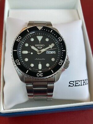 $ CDN248.56 • Buy SEIKO Diver Automatic SS BLK 4r36-07g0 Mint Condition W/box & Warranty Card