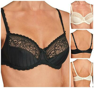 Conturelle By Felina Illusion Underwired Full Cup Bra 805804 New Lingerie • 21.96£