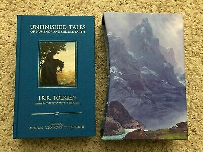 £247.80 • Buy SIGNED, DELUXE: Unfinished Tales Of Numenor And Middle Earth, Tolkien, Alan Lee
