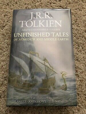 £95.58 • Buy SIGNED: Unfinished Tales Numenor Middle Earth, Tolkien, Alan Lee 1st Illustrated