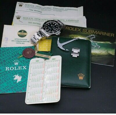 $ CDN15474.13 • Buy Vintage Rolex Submariner 16800 Full Set - Transition Model - Highly Collectable