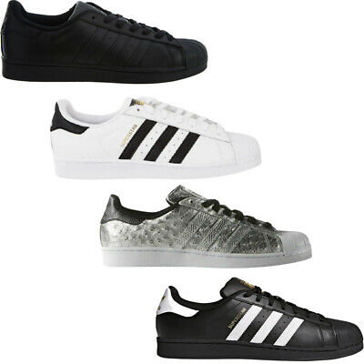 $ CDN77.77 • Buy Adidas Mens Trainers Superstar Originals Casual Shoes Low Top Retro Sneakers