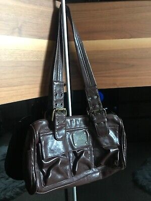 Women's D&G Brown Leather Bag • 20£